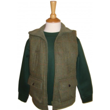Boys Tweed Gilet