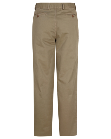 Hoggs of Fife Beauly Chino Trousers-Stone