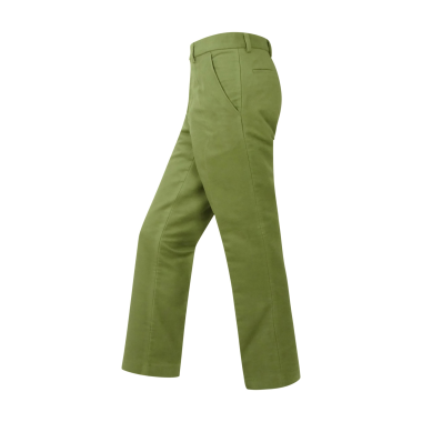 Hoggs of Fife Monarch Moleskin Trousers-Lovat