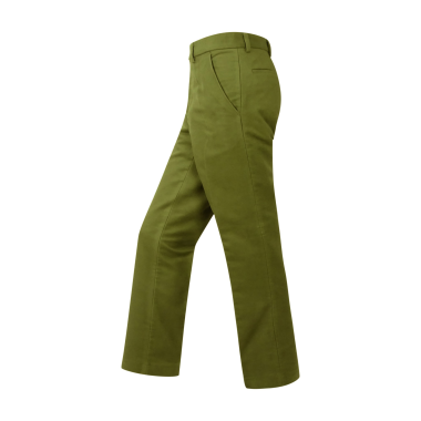 Hoggs of Fife Monarch Moleskin Trousers-Sage