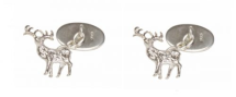 Dalaco Cut Out Sterling Silver Cufflinks