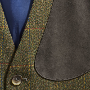 MUSTO LIGHTWEIGHT MACHINE WASHABLE TWEED WAISTCOAT
