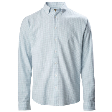 MUSTO LIGHTWEIGHT LONG SLEEVE GINGHAM SHIRT