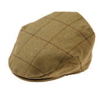 Alan Paine Rutland Tweed Waterproof Cap