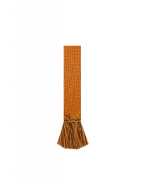 HOUSE OF CHEVIOT Garter Ties ~ Ochre/Spruce