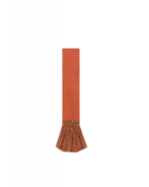HOUSE OF CHEVIOT Garter Ties ~ Burnt Orange/Ivy Green