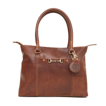 Hicks and Hides Hidcote Bit Handbag Cognac