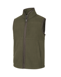 Hoggs of Fife WOODHALL JUNIOR FLEECE GILET-GREEN