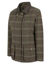 Hoggs of Fife MUSSELBURGH LADIES TWEED FIELD COAT