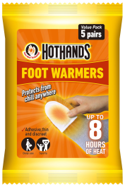 HotHands Foot Warmer Value Pack of 5 Pairs