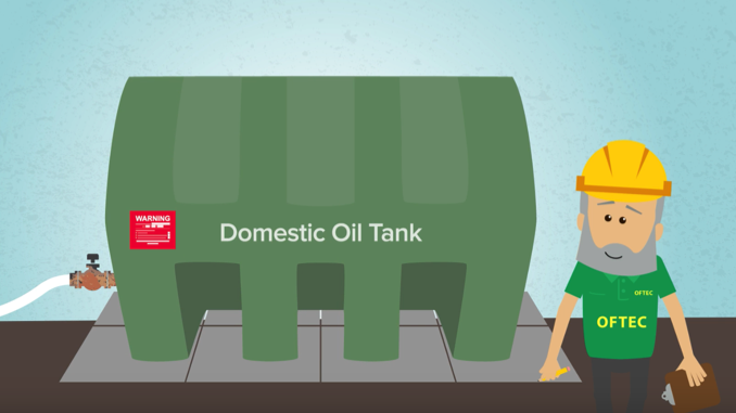 Oftec Domestic Heating Oil Tank