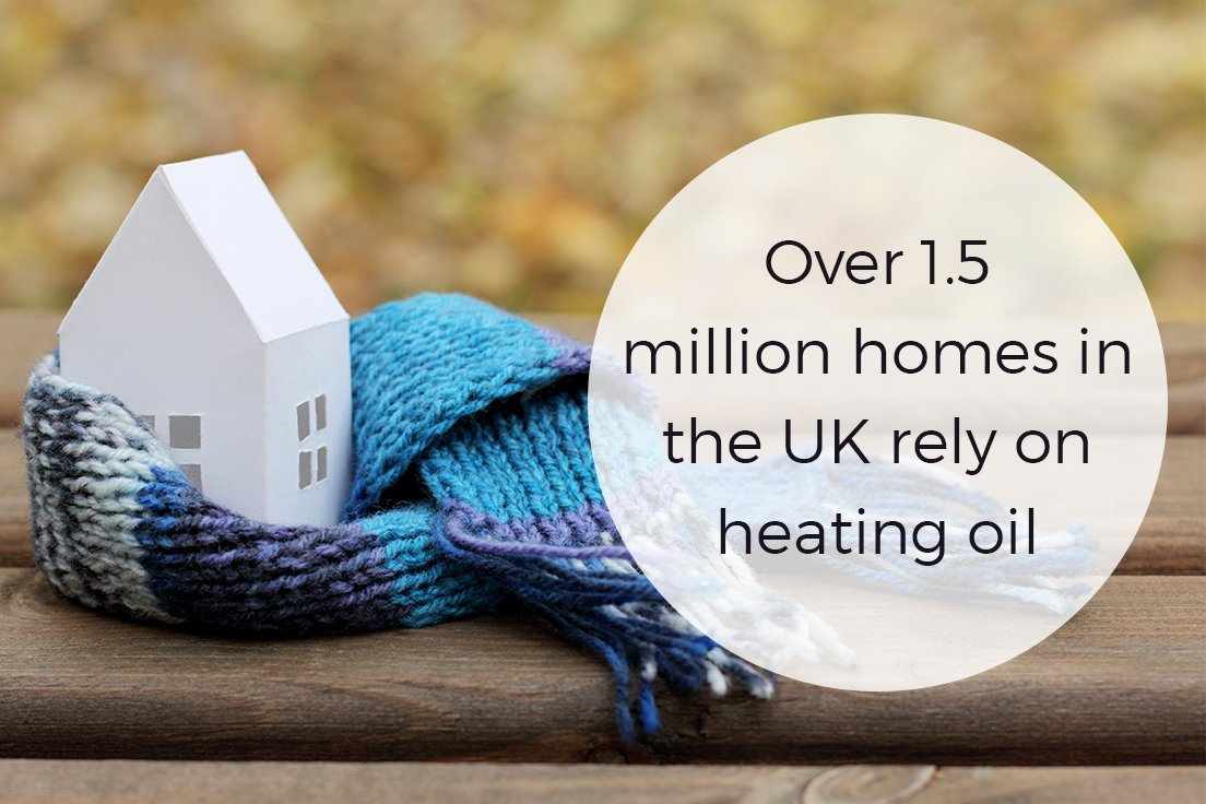 1.5 million homes in UK rely on heating oil