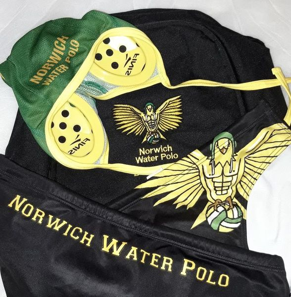 Norwich eagles water polo club kit cropped