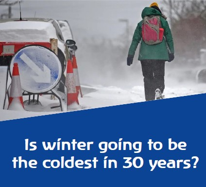 Coldest winter in 20 years