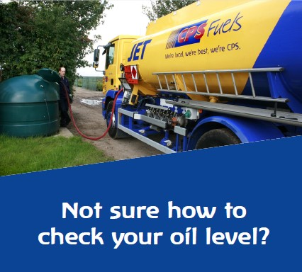 How to check you oil tank