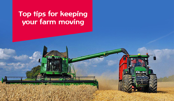 Top tips for keeping your farm moving