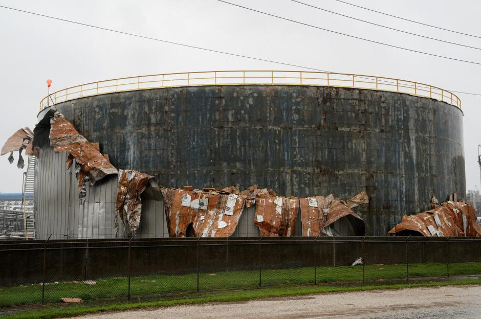 Storm Harvey damaged refinery