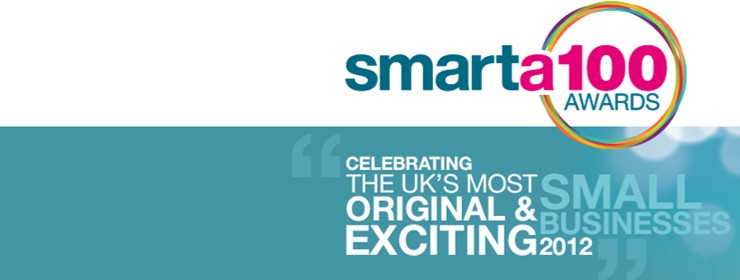 Deborah & Theo help to launch Smarta 100 competition