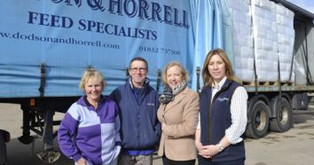 Dodson & Horrell donate feed to flood victims
