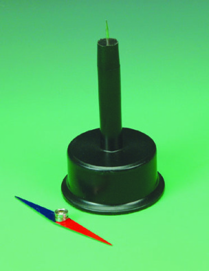 Magnetic Needle Stand. Plastic