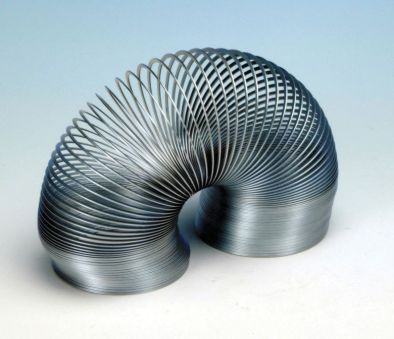 Metal Slinky, Helical Spring, 100mm Closed Length