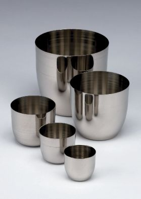 Crucible Lids stainless steel - to fit dia 40mm