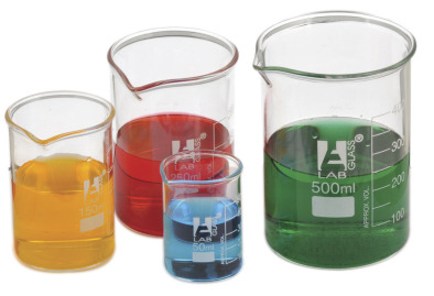 Beaker, Borosilicate Squat 1000ml (Single)