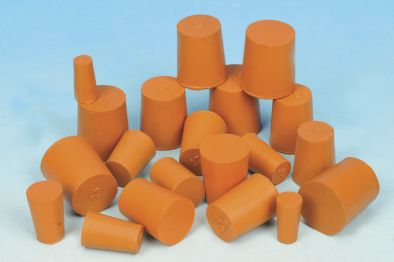 Rubber Stopper Solid 9x11.5x20 (Pk10)