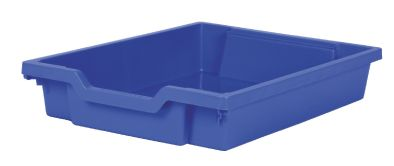 Gratnell Tray Shallow Blue