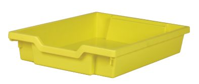 Gratnell Tray Shallow Yellow
