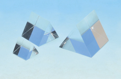 Prism - Clear Glass Equilateral 25x25mm