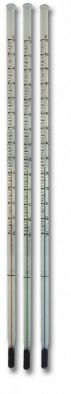 Thermometer 150mm -10/110C x 1.0div Total imm. Red fill