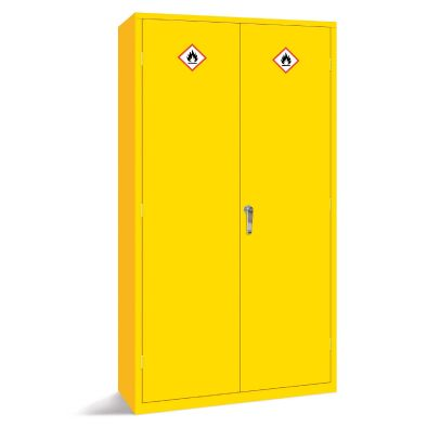 Hazardous Storage Cabinet Vertical Two Door