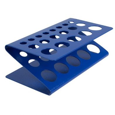 Test Tube Rack, Z Type, stackable  (Pk10) - Edulab