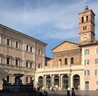 Discovering the churches of Trastevere