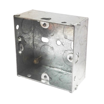 Single Socket Metal Back Box