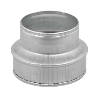 Reducer for Spiral Ductwork