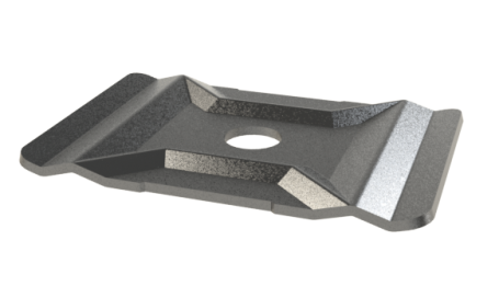 Central Hold Down / Suspension Plate