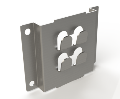 Multifix Wall Bracket 65mm