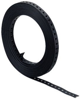 Black PVC Coated Fixing Band