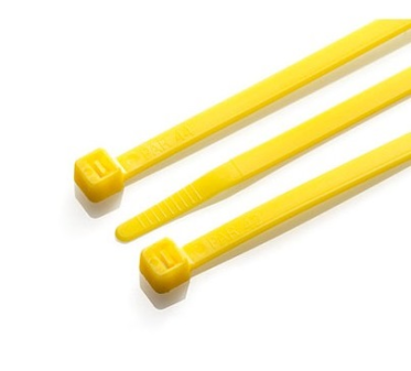 Cable Ties - Yellow Nylon