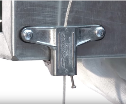Gripple Duct Trapeze No.2 with Channel Nut Wedge End Fixing