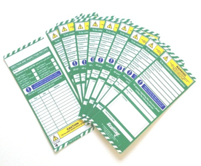 Scafftag Standard Inspection Inserts