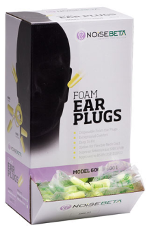 Disposable Ear Plugs (Pack of 200)