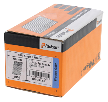 Paslode Brad Nails for Angled Nailer (IM65A) (Pack of 2000)