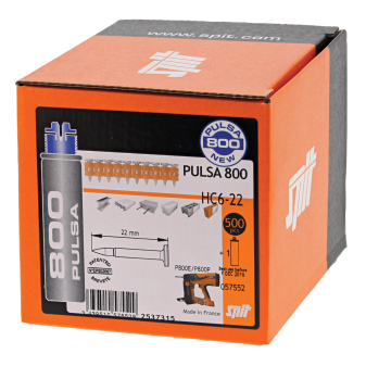 Pulsa Hard Concrete and Steel Nails (Pack of 500)