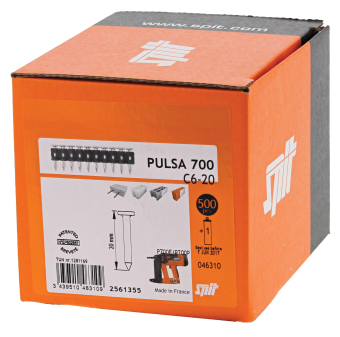Pulsa Standard Concrete Nails (Pack of 500)