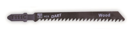 Wood & Plastic Cutting - Jigsaw Blades (Pack of 5)