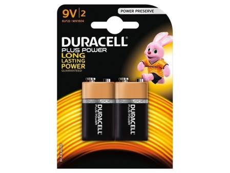 9v Batteries (Pack of 2)