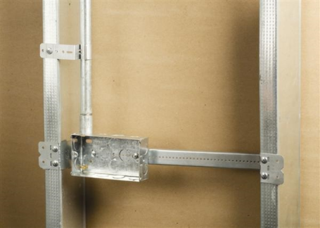Telescoping Electrical Box Supports